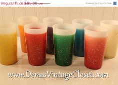 ON SALE 25 OFF Set of 8 Retro Vintage Fire by DenasCollectibles, $63.75