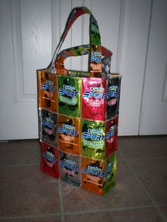 Recycled Capri Sun Bags