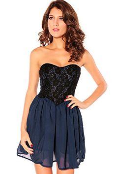 Dear-Lover Women Sweetheart Lace Overlay Lace Cute Strapless Dresses,Blue,Free Dear-Lover http://www.amazon.com/dp/B00ORFFH5C/ref=cm_sw_r_pi_dp_45Juub0AA4BTM
