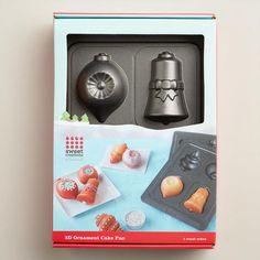 3-D Ornament Nonstick Baking Pan   World Market