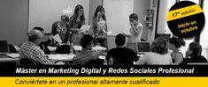 Master Profesional en Marketing Digital y redes Sociales: Próxima convocatoria 31 de Octubre 2014