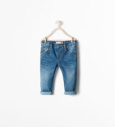 Five pocket jeans-Jeans-Baby boy (3 months - 3 years)-KIDS | ZARA United States