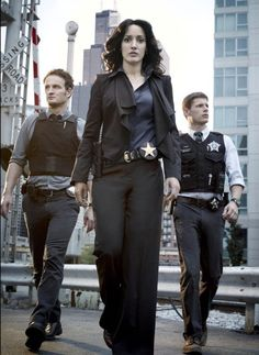 Jennifer Beals, Jason Clarke, and Matt Lauria in The Chicago Code Jason Clarke, Jennifer Beals, The Shield, Alex Owens, Crime, Watch Live Tv, The L Word, Chicago, Teen Models