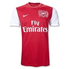 a58d2d773821b Arsenal 2011-2012 Home Nike Football Kits