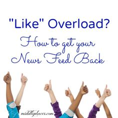How to Get Your Newsfeed Back: A New Challenge