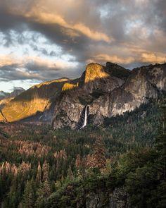 tunnel view. yosemite. california. by Tanner Wendell Stewart