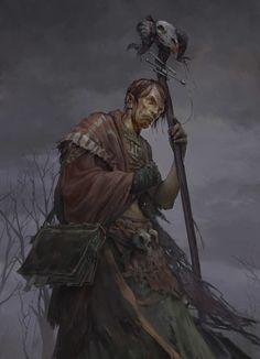 ArtStation - Warlock, Tomas Duchek