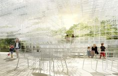 Sou Fujimoto's Serpentine Gallery Pavillon #13