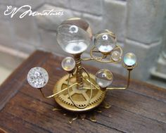 EV Miniatures: Moving Celestial Orery in 1/12 scale