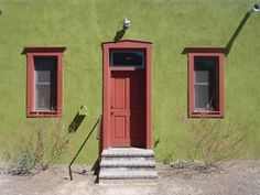 Yellow Stucco House For The Home Pinterest Colors