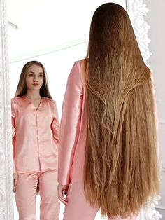 22 Easy Hairstyles for Long Hair (Fast Looks for - Style My Hairs Get Thicker Hair, Longer Hair Faster, Blowout Hair, Long Blond, Really Long Hair, Playing With Hair, Beautiful Long Hair, Bad Hair, Easy Hairstyles