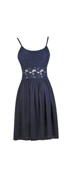 Lily Boutique Peace and Love Crochet Floral Lace Dress in Blue, $50 Blue Crochet Lace Dress, Cute Blue Sundress, Blue Boho Dress, Cute Summer Dress www.lilyboutique.com