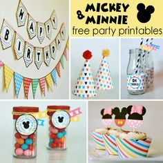 A DIY Mickey and Minnie Party Wrap Up