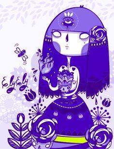 Melissa Sánchez, ilustradora mexicana orginaria de Aguascalientes... Conoce su propuesta en http://www.estilomexicano.com.mx/#!melissasanchez-experienciaymovimiento/c1szy   #Arte #Diseño #Ilustración #Vector #Dibujo #Design #Art #Artwork #Print #Serigrafía