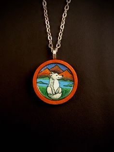 Jewelry Shop, Custom Jewelry, Jewelry Art, Jewlery, Pretty Necklaces, Unique Necklaces, Wolf Symbolism, Handmade Accessories, Handmade Items