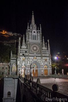 Casinha colorida: Se me chamar, eu vou: Santuário Las Lajas, Colômbia