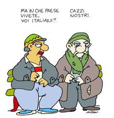 l'Espresso - Le vignette di Altan