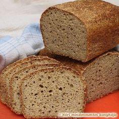 Nóri mindenmentes konyhája: Mindenmentes, teljes kiőrlésű házi kenyér (gluténmentes, tojásmentes, szójamentes)