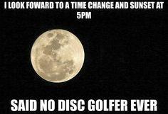 Change Back!!! Disc Golf humor