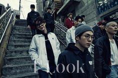 기리보이 Giriboy, NO.Mercy, Genius Nochang, Mad Clown, Junggigo, Jooyoung & Vasco in 1st Look Magazine