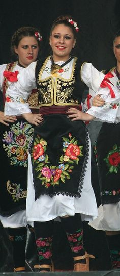 Serbia - LOVE the embroidery on the overskirt/apron