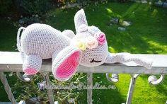 Crochet Toys Patterns, Amigurumi Patterns, Stuffed Toys Patterns, Crochet Dolls, Knit Crochet, Amigurumi Toys, Diy Toys, Dinosaur Stuffed Animal, Elephant