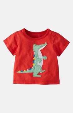 Mini Boden 'Big Appliqué' T-Shirt (Baby) available at #Nordstrom