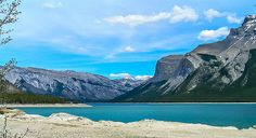 Lake Minnewanka Canada, Explore, Mountains, Nature, Travel, Outdoor, Outdoors, Naturaleza, Viajes