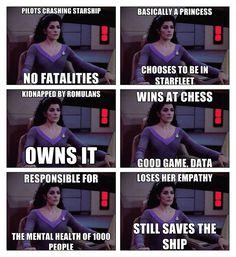 Deanna Troi - Star Trek TNG