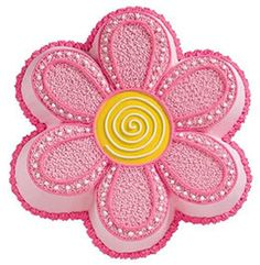 Flower Cake decorating idea from Wilton