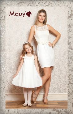 s Clothing Children' Mother Daughter Pictures, Mother Daughter Matching Outfits, Mother Daughter Fashion, Mom Daughter, Mom And Baby Outfits, Family Outfits, Kids Outfits, Little Girl Dresses, Girls Dresses