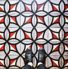Os mosaicos das ruas de Paris - Paris por Paulo Pereira