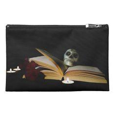 Reading Skull Travel Accessory Bag