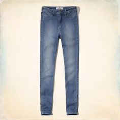 Hollister Flawless Stretch High Rise Super Skinny Jeans