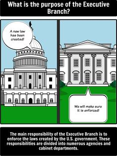 Executive Branch - 5 Ws: Create a 5 W's spider map for the Executive Branch using Storyboard That with your students.