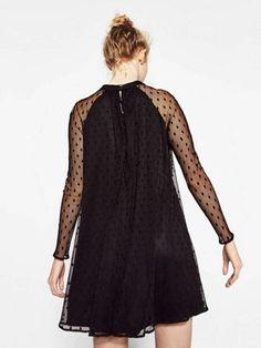 Vestido Preto de Tule - Ref.1004 na internet