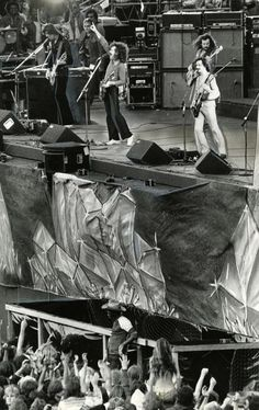 A day on the Green in Oakland Ca. 1979 Bill Graham Presents.the rock group Boston on stage,Three decades of Bay Area music festivals (photos) | The Poop | an SFGate.com blog