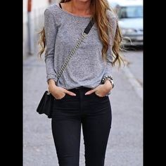 Joe's Jeans Heather Gray top Joe's Jeans Heather Gray long sleeve linen top with light padding detail on the shoulders. ⚡️Fast shipper!  Top-rated Seller!  Bundle discount available  Joe's Jeans Tops Tees - Long Sleeve