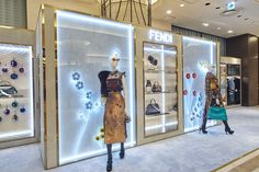 The Botanical Garden window installations seen at the Fendi Osaka Hankyu-Umeda pop-up shop. Find your nearest boutique on fendi.com/store-locator