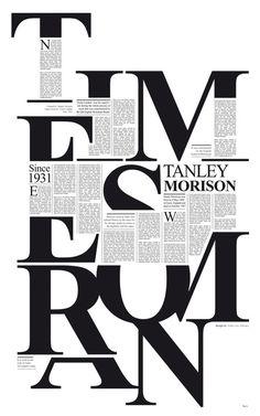 Times #design graphic design #type