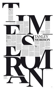 Times Roman - All kinds of #Typographic Awesome
