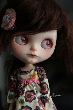 Love the dress Bjd, Crazy Women, Creepy Dolls, Little Doll, Fairy Dolls, Cute Dolls, Doll Face, Big Eyes, Sculpture