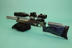 The Anschutz CA2002 Super Air - CA being the abbreviation of Charged Air, which was released not long long after the 2002 Super Air pre charged pnematic, was used as a base, and extenseively modified by a man by the name of Allen Zasadny, into a championship winning Field Target rifle. Namely, the ZM 2002- ZM beingZasadny Modified.