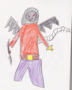 Game Concept Art, 7 Year Olds