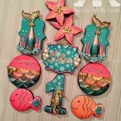 Under the Sea Glam Cookies
