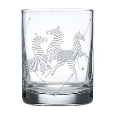 Scalamandre by Lenox Zebra Double Old-Fashioned Glass, Set of 2 | Bloomingdales