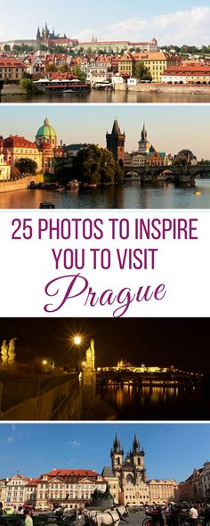 25 Photos to inspire you to visit Prague Czech Republic | Visit Prague in 25 breathtaking photos | 25 Photos to inspire you to travel to Prague Czech Republic