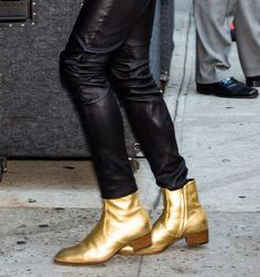 An Ode to Lenny Kravitz's Outrageous Shoe Collection