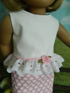 American Girl doll clothes summer outfit for by SewCuteJune