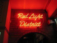 Red Light District. Amsterdam.